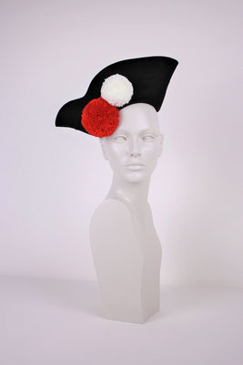 FELT HAT WITH WOOL PON-PON - €140 -
