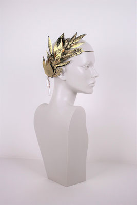 GOLDEN DIADEM (UNIQUE PIECE) - ONLY FOR RENT -