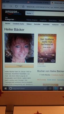Meine Autorenseite auf Amazon