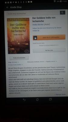 Mein Buch auf Amazon