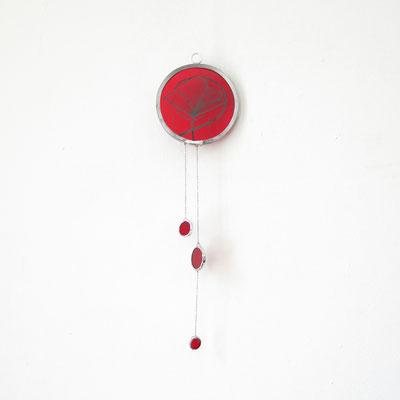 Mobile vitrail : poppy