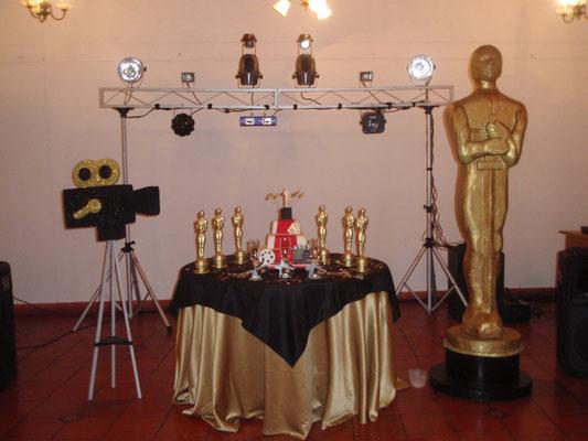 ponqué 15 años tema premios Oscar en Cajicá