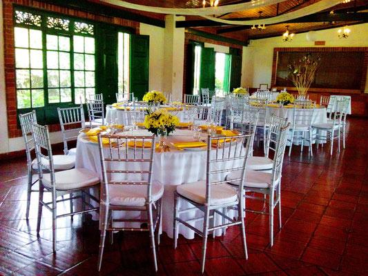 salón de recepciones matrimonio cajicá