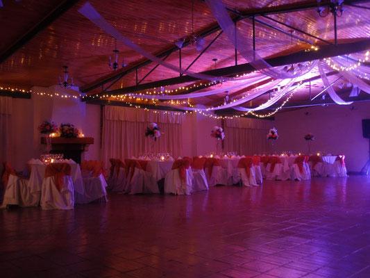 iluminación boda Cajicá