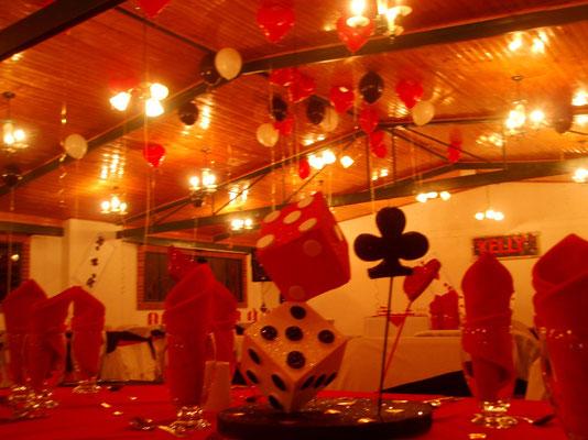fiesta temática casino en Cajicá