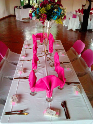 salón de recepciones para 15 años en Cajicá