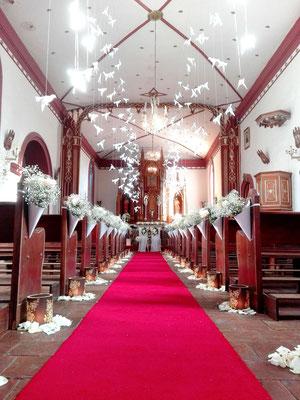 decoración para bodas iglesia bogotá
