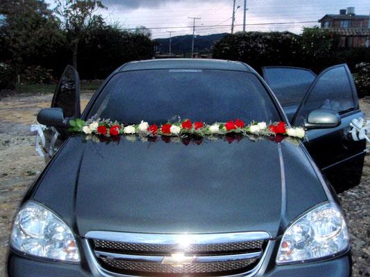 Carro de novia en Cajicá