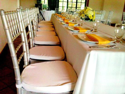 mesa principal boda cajicá