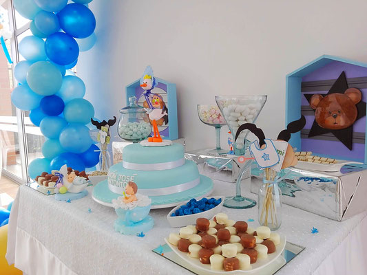 Mesa de dulces baby shower Cajicá Chía Bogotá