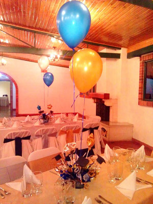 salón para fiesta de grado en Cajicá