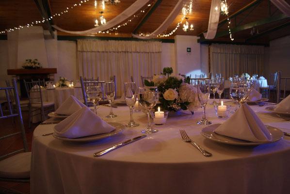 decoración blanca boda