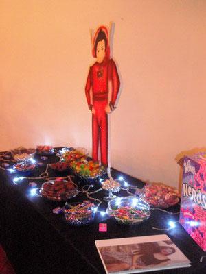 mesa de dulces quince años en Cajicá