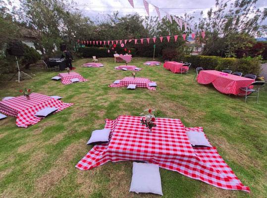 Fiesta campestre picnic Cajicá