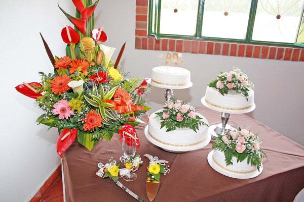 Torta de cumpleaños en Cajicá