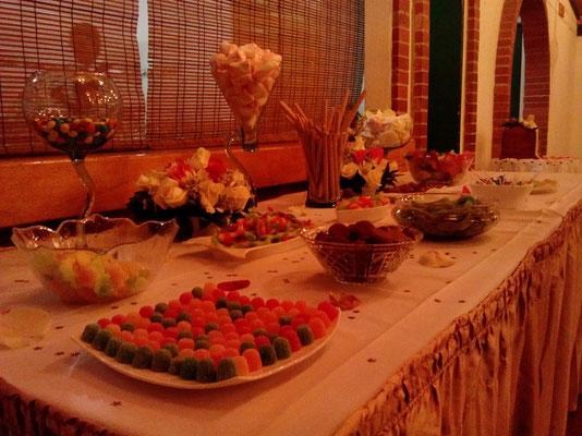 mesa de dulces para 15 años en Cajicá