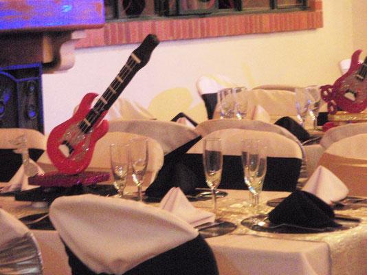 Decoración temática fiesta disco en Cajicá