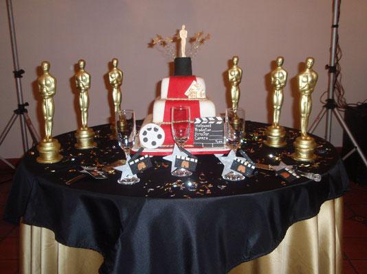 Torta temática Premios Oscar en Cajicá