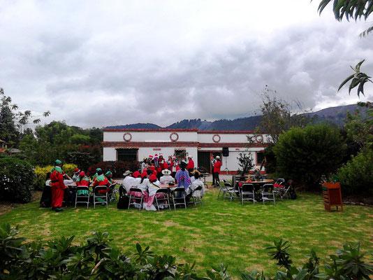 lugar para fiesta de fin de año en Cajicá