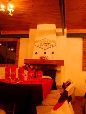 quince años temática casino en Cajicá