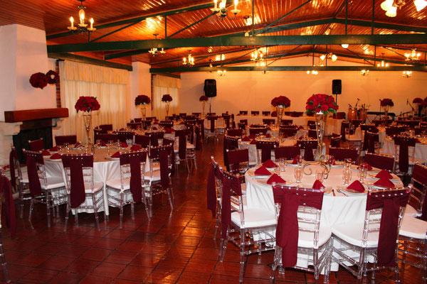 salón de recepciones para matrimonio en Cajicá