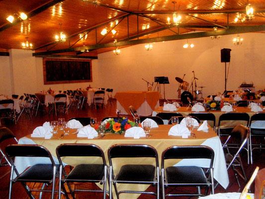 salón de eventos para grado en Cajicá