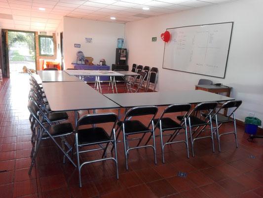 Salón conferencias Casa El Misterio Cajicá