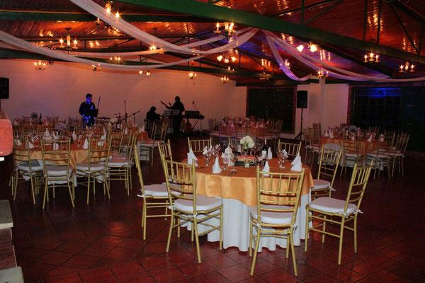 Salón matrimonio Casa El Misterio Cajicá