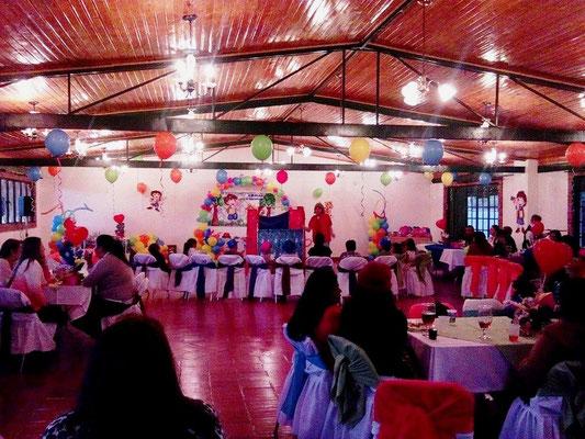 salón de eventos para piñata en Cajicá