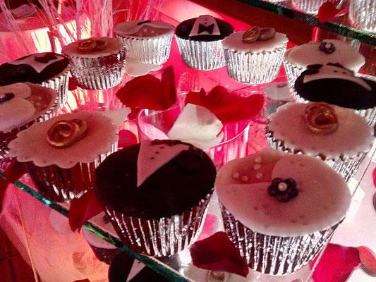 cupcakes de matrimonio
