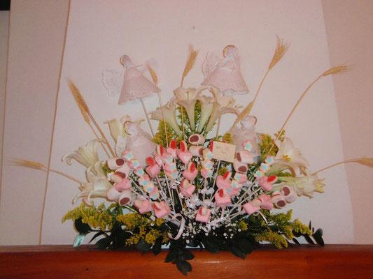 Decoración primera comunión en Cajicá