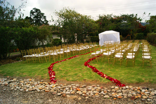 boda campestre Cajicá