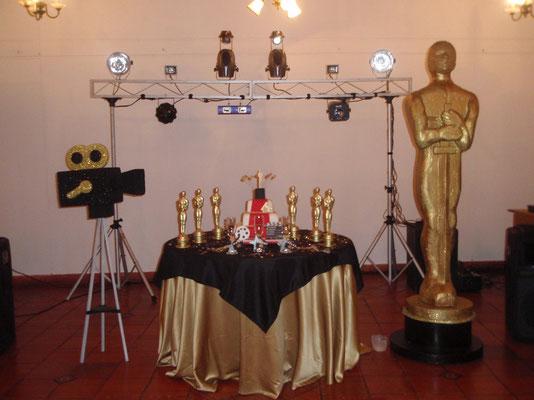 Decoración temática premios Oscar