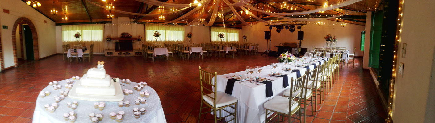 recepción matrimonio eventos Casa El Misterio Cajicá