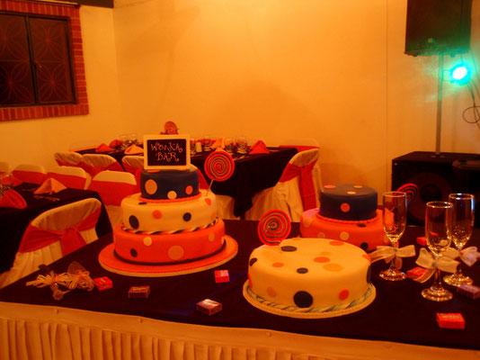 torta temática Willy Wonka en Cajicá