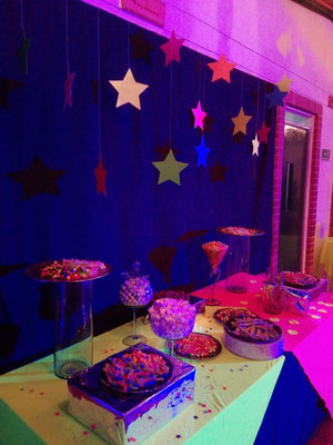 Quince años temática neon Eventos Casa El Misterio Cajicá