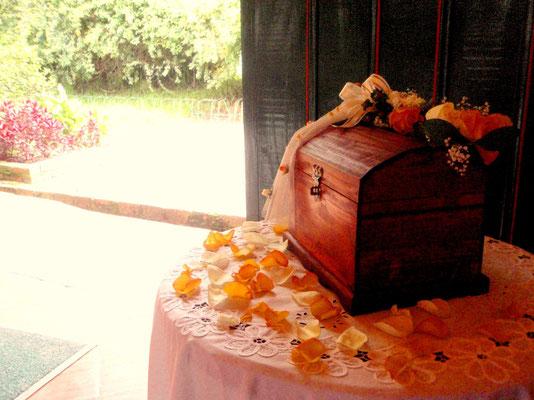 Decoración con flores en Cajicá