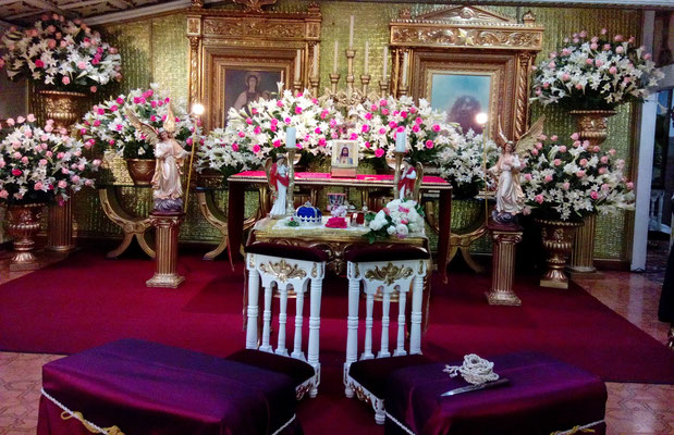 wedding planner decoración iglesia cajicá