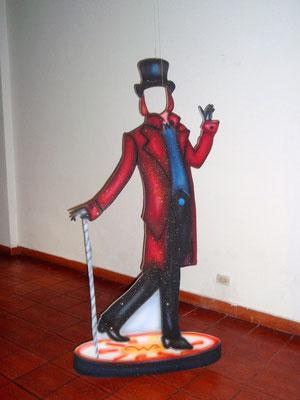 decoración Willy Wonka en Cajicá