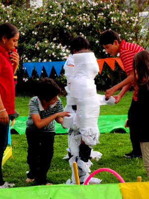 recreación fiesta infantil en Cajicá