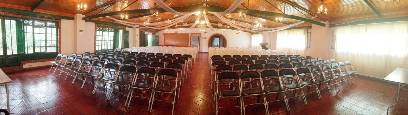 salón para eventos cajicá Casa El Misterio
