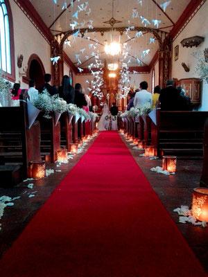 Decoración boda bogotá