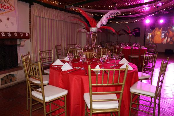 Decoración fiesta de quince años Eventos Casa El Misterio Cajicá