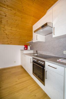 Neue Küche im obersten Stock vom Haus 2