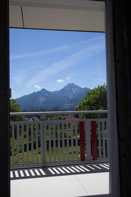 Traumhafter Ausblick auf die Berge