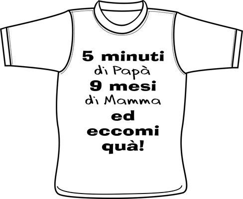 37f7af1a35e03a Magliette per bimbi e bimbe - Centro stampa brianza di Zanelli Dario