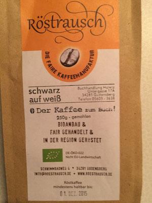 Kaffee Röstrausch regional gebrannt in Gudensberg, bekömmlicher, als Sie denken