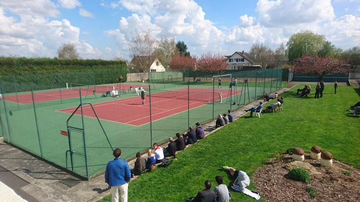 Tennis Vivaise court extérieur