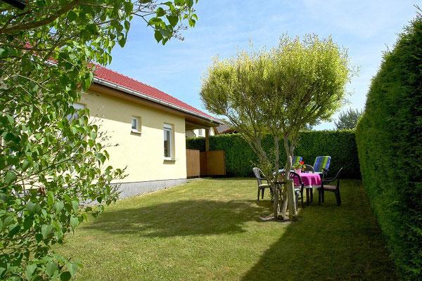 Gartenbereich vom Ferienhaus - Ansicht 2