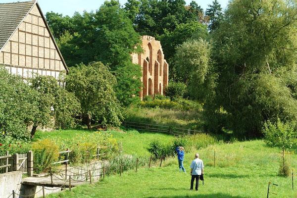 Klosterruine und Klostermühle Boitzenburg